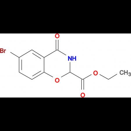 Ethyl 6-bromo-4-oxo-3,4-dihydro-2H-benzo[e][1,3]oxazine-2-carboxylate