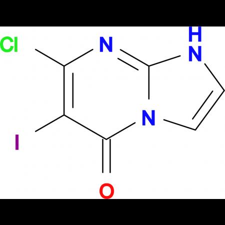 7-CHLORO-6-IODOIMIDAZO[1,2-A]PYRIMIDIN-5(1H)-ONE