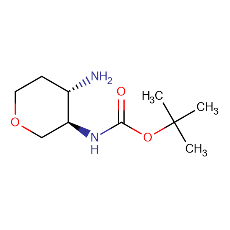 TRANS-(4-AMINO-TETRAHYDRO-PYRAN-3-YL)-CARBAMIC ACID TERT-BUTYL ESTER