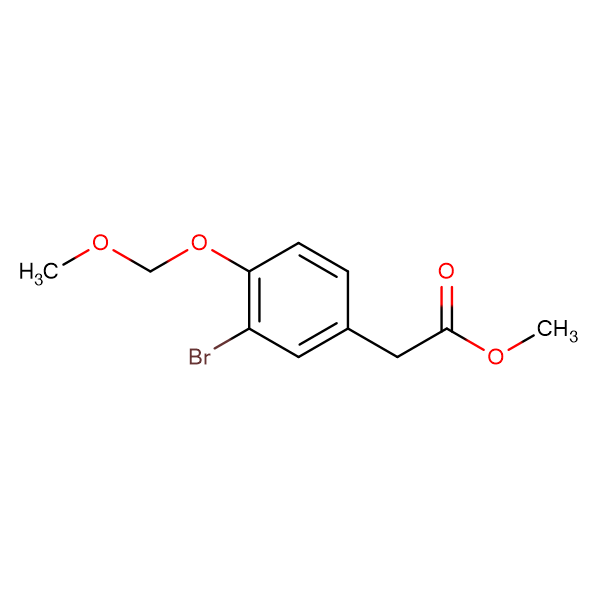 METHYL 2-(3-BROMO-4-(METHOXYMETHOXY)PHENYL)ACETATE