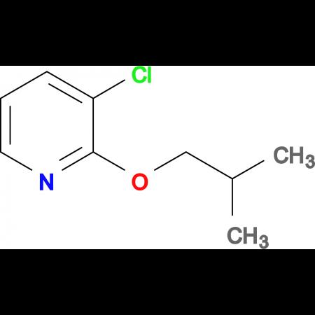 3-CHLORO-2-ISOBUTOXYPYRIDINE