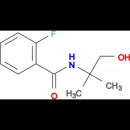 2-FLUORO-N-(1-HYDROXY-2-METHYLPROPAN-2-YL)BENZAMIDE