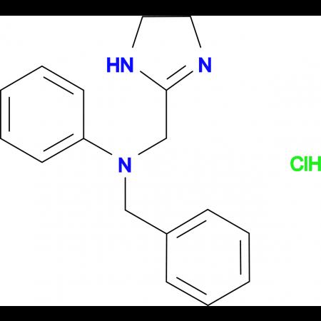 N-benzyl-N-(4,5-dihydro-1H-imidazol-2-ylmethyl)aniline hydrochloride