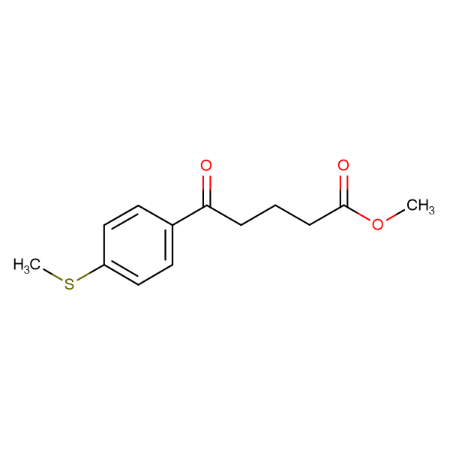 Methyl 5-(4-methylthiophenyl)-5-oxovalerate