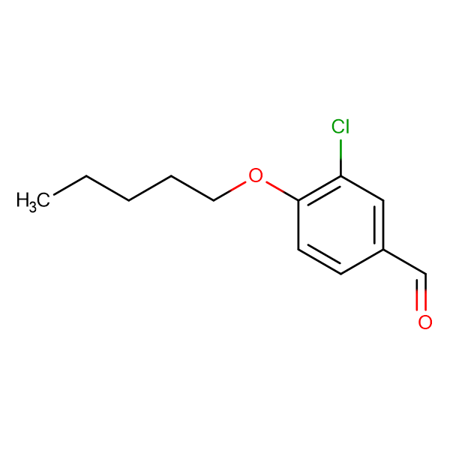 3-Chloro-4-n-pentoxybenzaldehyde