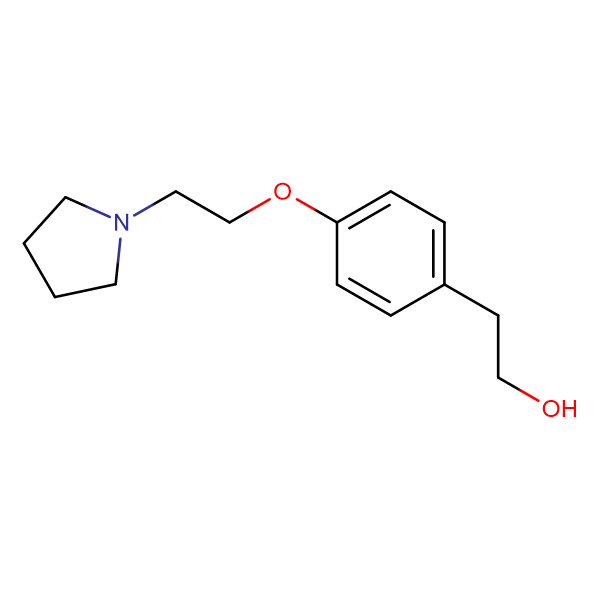 4-(2-N,N-Pyrrolidinoethoxy)phenethyl alcohol