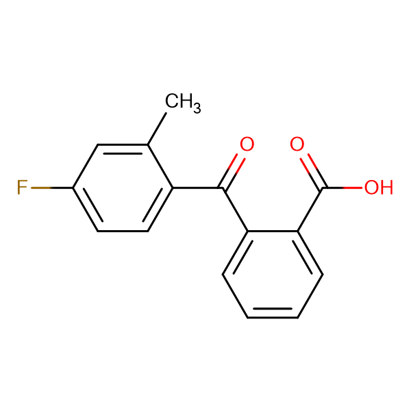 2-(4-Fluoro-2-methylbenzoyl)benzoic acid
