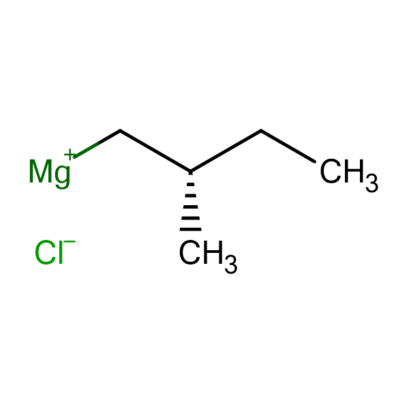 (S)-(+)-2-Methylbutylmagnesium chloride, 0.5M THF