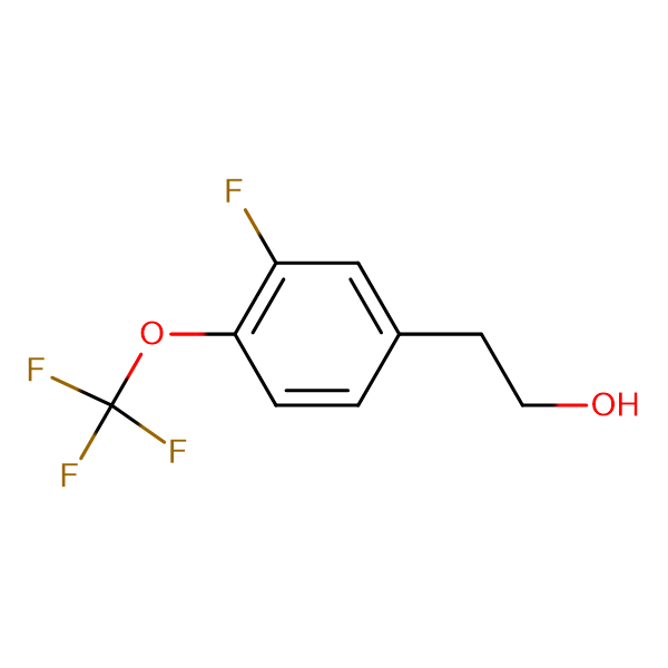 3-Fluoro-4-(trifluoromethoxy)phenethyl alcohol