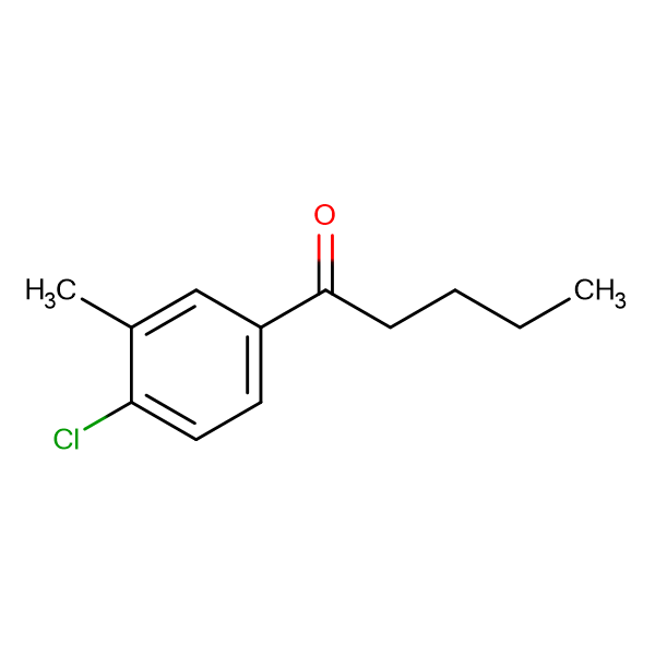 1-(4-Chloro-3-methylphenyl)pentan-1-one