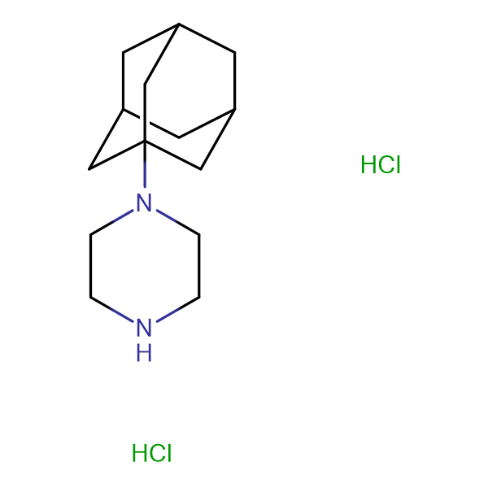 1-(1-adamantyl)piperazine dihydrochloride