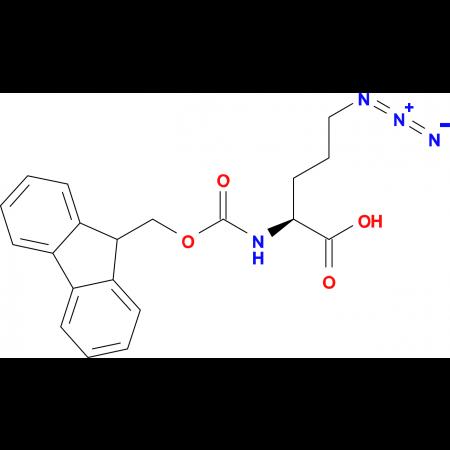 (2S)-5-azido-2-{[(9H-fluoren-9-ylmethoxy)carbonyl]amino}pentanoic acid