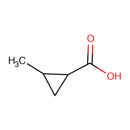 2-Methylcyclopropanecarboxylic acid