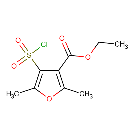 Ethyl 4-(Chlorosulphonyl)-2,5-dimethyl-3-furoate