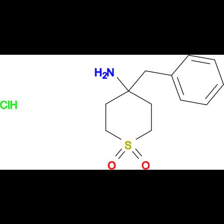 4-Amino-4-benzyl-1Lambda(6)-thiane-1,1-dione hydrochloride