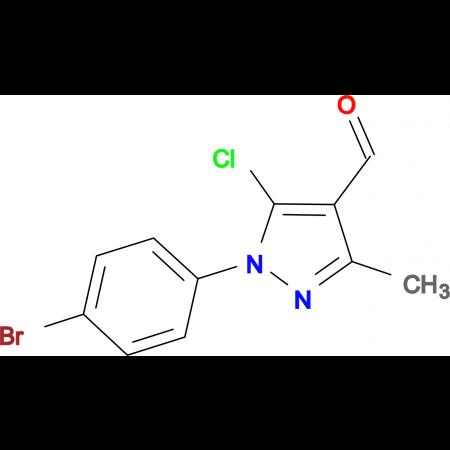 1-(4-bromophenyl)-5-chloro-3-methyl-1H-pyrazole-4-carbaldehyde