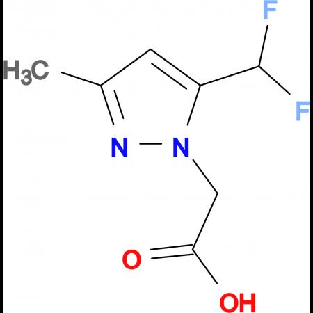 [5-(difluoromethyl)-3-methyl-1H-pyrazol-1-yl]acetic acid