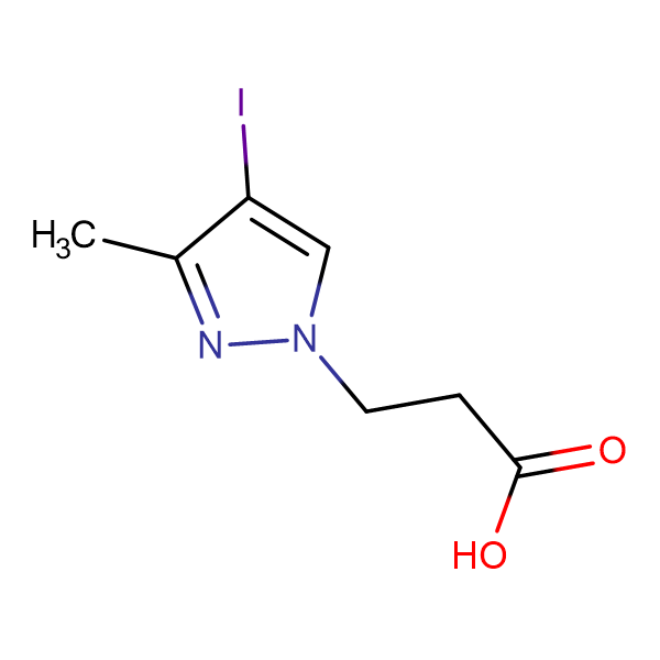 3-(4-iodo-3-methyl-1H-pyrazol-1-yl)propanoic acid