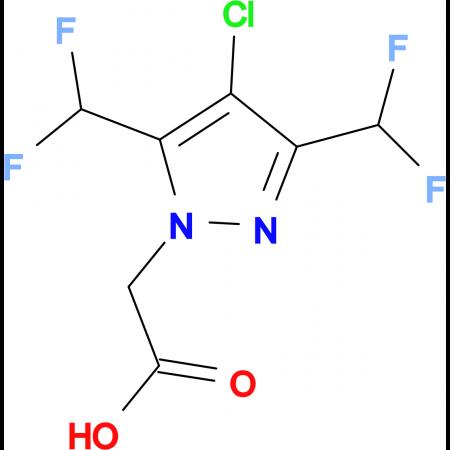 [4-chloro-3,5-bis(difluoromethyl)-1H-pyrazol-1-yl]acetic acid