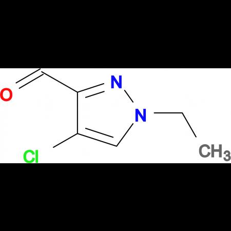 4-chloro-1-ethyl-1H-pyrazole-3-carbaldehyde