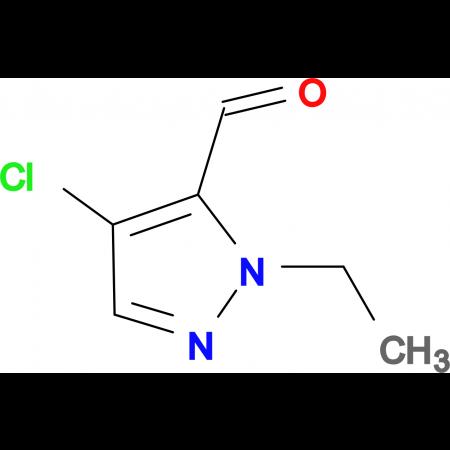 4-chloro-1-ethyl-1H-pyrazole-5-carbaldehyde