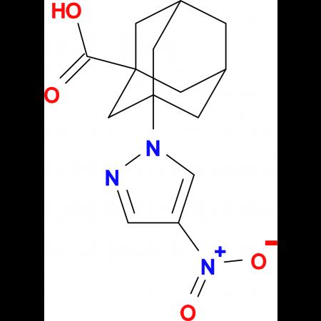 3-(4-nitro-1H-pyrazol-1-yl)adamantane-1-carboxylic acid