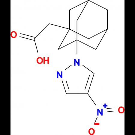 [3-(4-nitro-1H-pyrazol-1-yl)-1-adamantyl]acetic acid