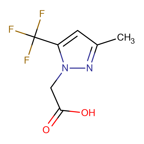 [3-methyl-5-(trifluoromethyl)-1H-pyrazol-1-yl]acetic acid