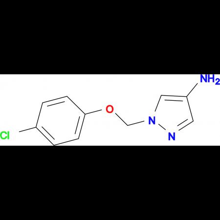 1-[(4-chlorophenoxy)methyl]-1H-pyrazol-4-amine