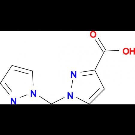 1-(1H-pyrazol-1-ylmethyl)-1H-pyrazole-3-carboxylic acid