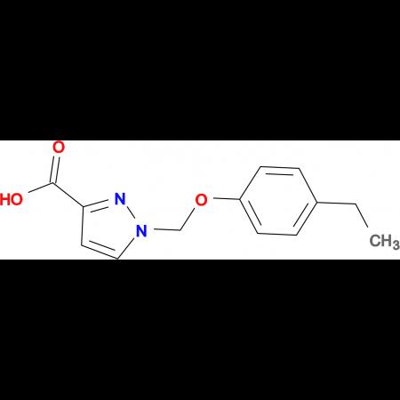 1-[(4-ethylphenoxy)methyl]-1H-pyrazole-3-carboxylic acid