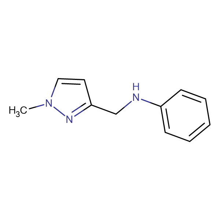 N-[(1-methyl-1H-pyrazol-3-yl)methyl]-N-phenylamine