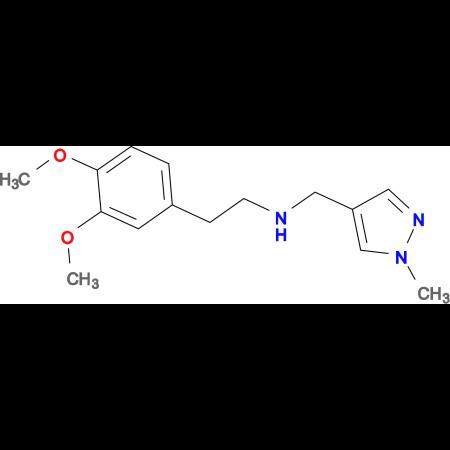 N-[2-(3,4-dimethoxyphenyl)ethyl]-N-[(1-methyl-1H-pyrazol-4-yl)methyl]amine