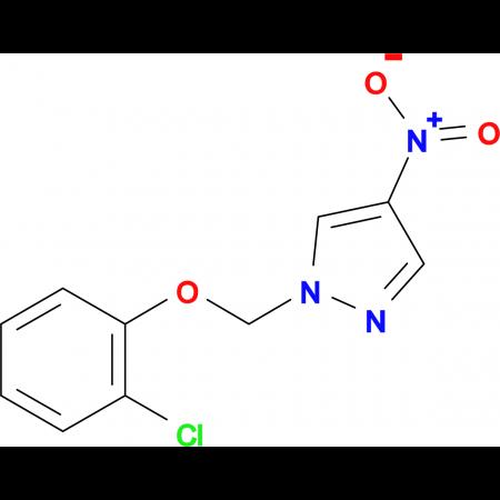1-[(2-chlorophenoxy)methyl]-4-nitro-1H-pyrazole