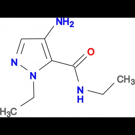 4-amino-N,1-diethyl-1H-pyrazole-5-carboxamide