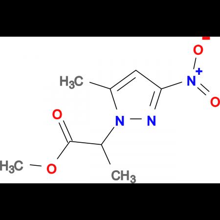 methyl 2-(5-methyl-3-nitro-1H-pyrazol-1-yl)propanoate