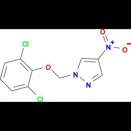 1-[(2,6-dichlorophenoxy)methyl]-4-nitro-1H-pyrazole