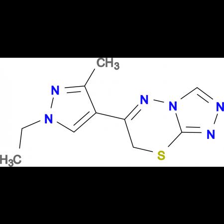 6-(1-ethyl-3-methyl-1H-pyrazol-4-yl)-7H-[1,2,4]triazolo[3,4-b][1,3,4]thiadiazine