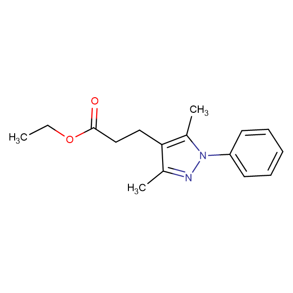 ethyl 3-(3,5-dimethyl-1-phenyl-1H-pyrazol-4-yl)propanoate