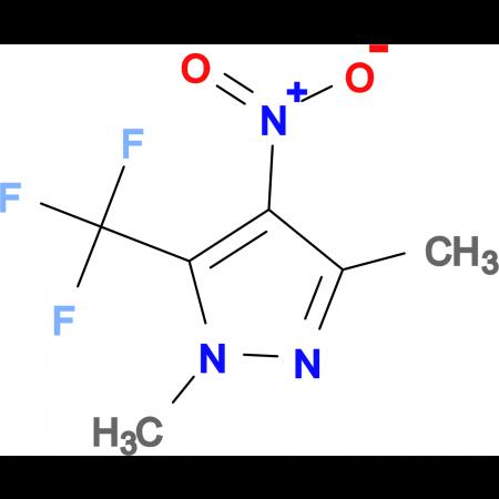 1,3-dimethyl-4-nitro-5-(trifluoromethyl)-1H-pyrazole