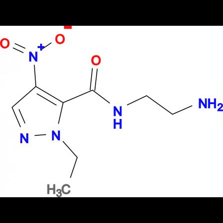 N-(2-aminoethyl)-1-ethyl-4-nitro-1H-pyrazole-5-carboxamide