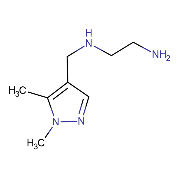 N-[(1,5-dimethyl-1H-pyrazol-4-yl)methyl]ethane-1,2-diamine