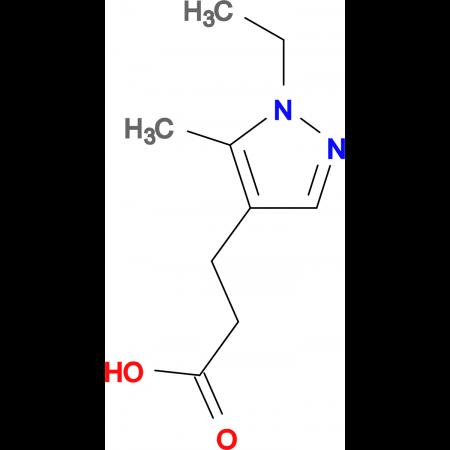 3-(1-ethyl-5-methyl-1H-pyrazol-4-yl)propanoic acid
