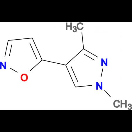 5-(1,3-dimethyl-1H-pyrazol-4-yl)isoxazole