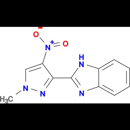 2-(1-methyl-4-nitro-1H-pyrazol-3-yl)-1H-benzimidazole