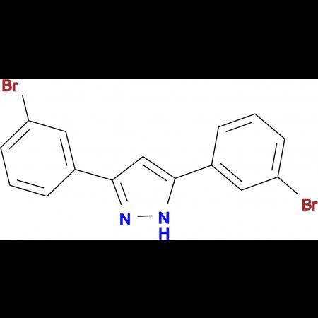 3,5-bis(3-bromophenyl)-1H-pyrazole