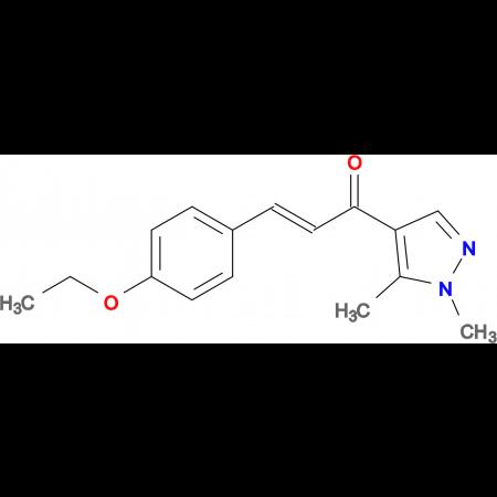 (2Z)-1-(1,5-dimethyl-1H-pyrazol-4-yl)-3-(4-ethoxyphenyl)prop-2-en-1-one