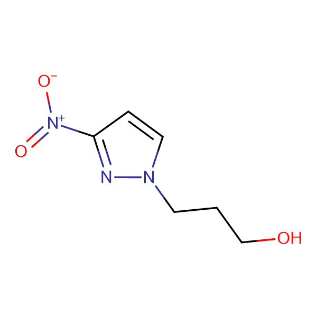 3-(3-nitro-1H-pyrazol-1-yl)propan-1-ol