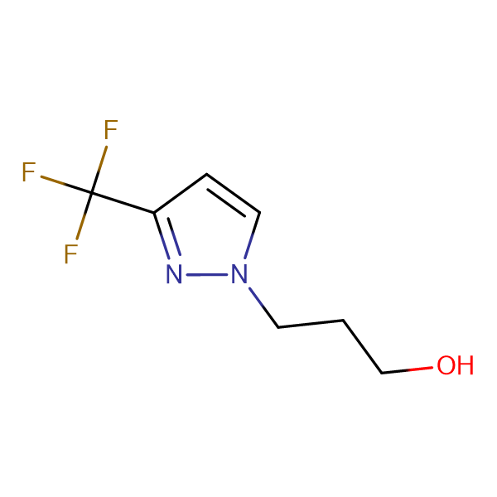 3-[3-(trifluoromethyl)-1H-pyrazol-1-yl]propan-1-ol