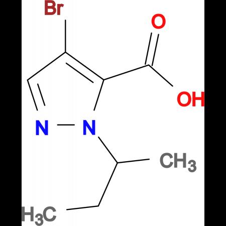 4-bromo-1-sec-butyl-1H-pyrazole-5-carboxylic acid